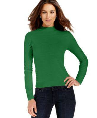 DEBBIE MORGAN SWEATER, LONG-SLEEVE MOCK TURT BLACK XL-DEBBIE MORGAN-Fashionbarn shop