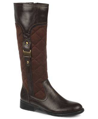 LIFESTRIDE-BROWN CALF BOOTS-LIFESTRIDE-Fashionbarn shop