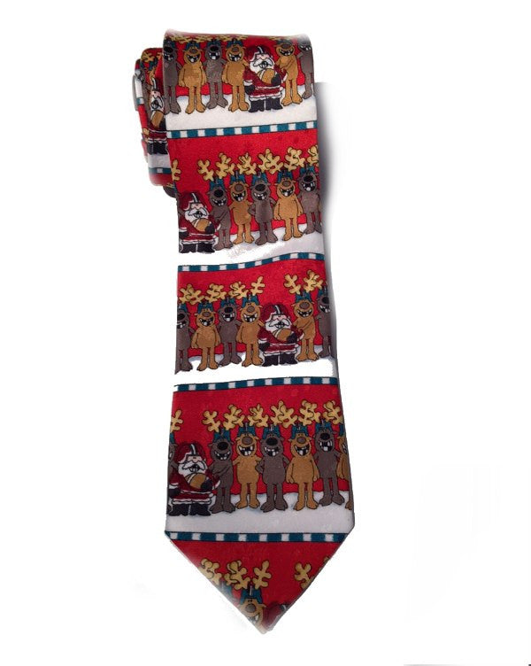 John Ashford Men's Football Horizontal Necktie-JOHN ASHFORD-Fashionbarn shop