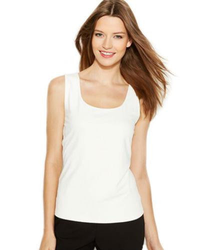 Charter Club Petite Top, Sleeveless Scoop Neck Tank-CHARTER CLUB-Fashionbarn shop