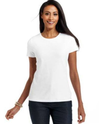 Charter Club Pima Short-Sleeve Crew-Neck Tee-CHARTER CLUB-Fashionbarn shop