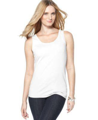 JONES NEW YORK TOP SLEEVELESS SCOOP-JONES NEW YORK-Fashionbarn shop