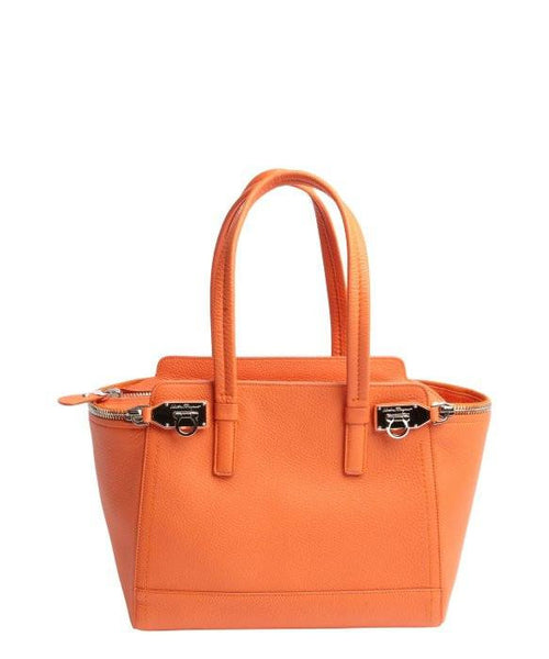 Salvatore Ferragamo Tote Verve Small Light Zip-Side Tote Bag-SALVATORE FERRAGAMO-Fashionbarn shop