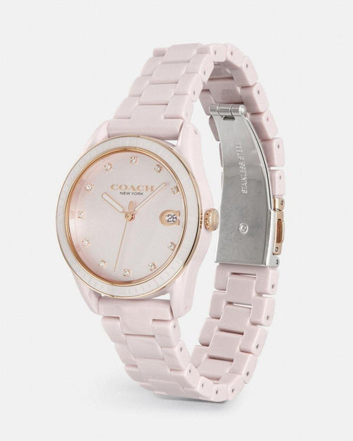 Coach Preston Sport Watch, 36mm Pink