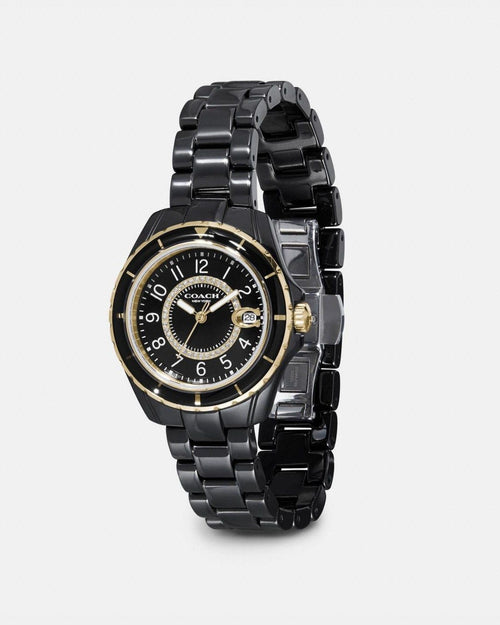 Coach Preston Sport Black Watch, 32mm
