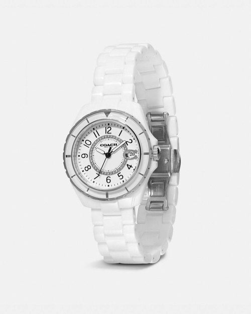Coach Preston Sport White Watch, 32mm
