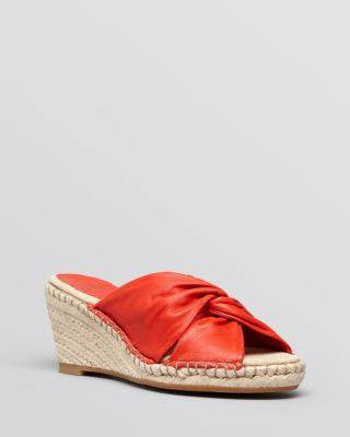 Johnston & Murphy Women's Platform Wedge Espadrille Slide Sandals - Ainsley-JOHNSTON-Fashionbarn shop
