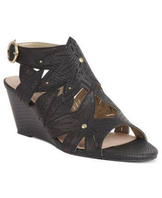 XOXO WEDGE SANDALS-XOXO-Fashionbarn shop