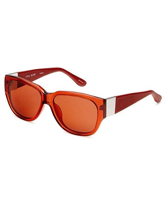 Linda Farrow ROW502C5 Sunglasses Terracotta Red