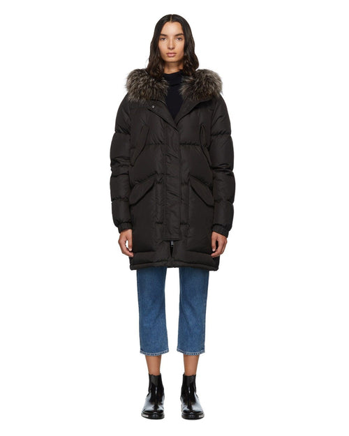 Army By Yves Salomon Doudoune Down Jacket, Black