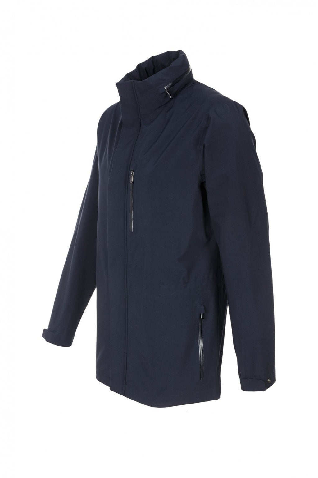 Z ZEGNA Dark Grey Waterproof Field Jacket