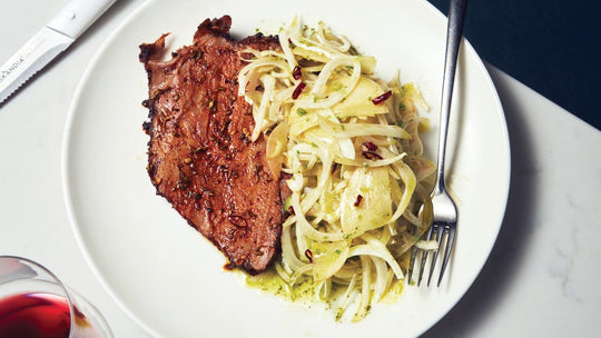 Spiced Roast Pork With Fennel and Apple Salad
