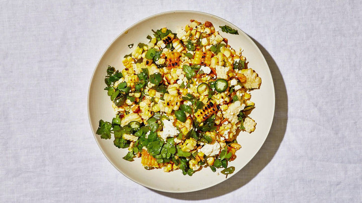 The Essential Grilled Corn Salad