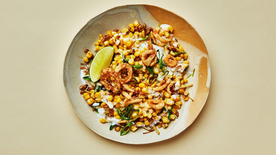Coconut-Creamed Corn and Grains