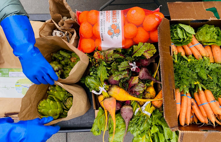 How to shop Bay Area farmers' markets while avoiding crowds: Buy a farm box