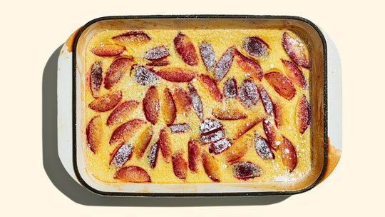 Baked Plum Pudding