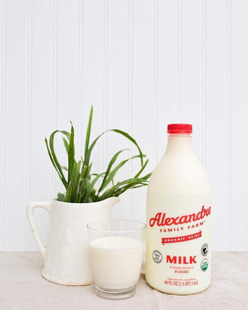 Organic A2 6% Whole Milk, 48 oz from Alexandre Family Farm - San Francisco Farmers Market Delivery