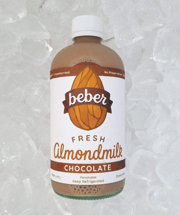 Organic Chocolate Almondmilk, 16 oz from Beber Almondmilk - San Francisco Farmers Market Delivery