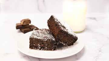 Ultimate Chocolate Brownies, 2 brownies