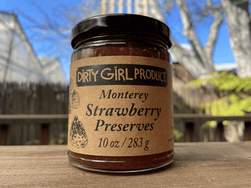 Organic Monterey Strawberry Jam, 6 oz from Dirty Girl Produce - San Francisco Farmers Market Delivery