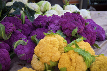Organic Purple Cauliflower, 1 head from Everything Under the Sun - San Francisco Farmers Market Delivery