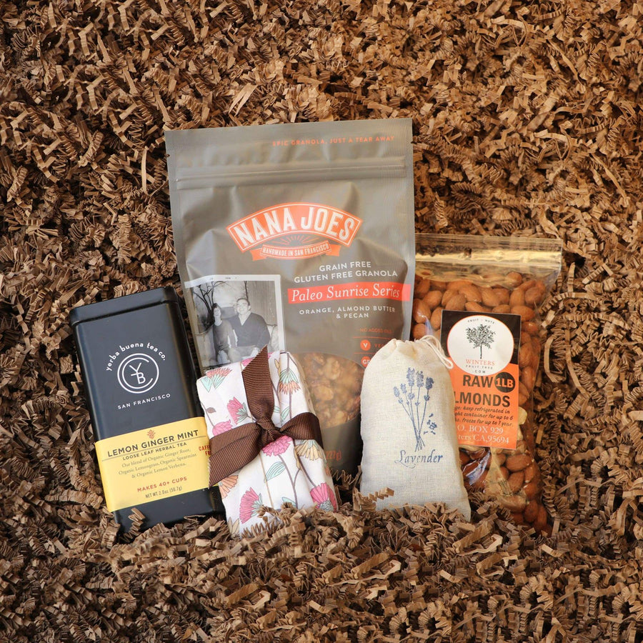 Organic Holiday Gift Box | Small from Farm Box by 409 + Co - San Francisco Farmers Market Delivery