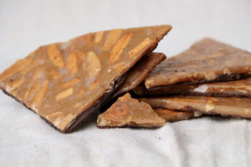 Dark Chocolate Almond Brittle, 4 oz