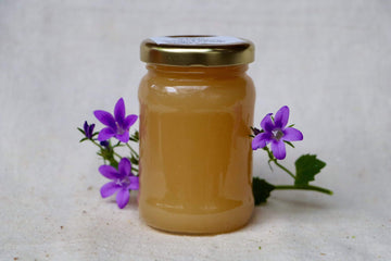 Organic Wild Flower Honey, 4 oz from Happy Quail Farms - San Francisco Farmers Market Delivery