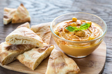Organic Lemon Hummus from Marin Gourmet Artisanal Foods - San Francisco Farmers Market Delivery