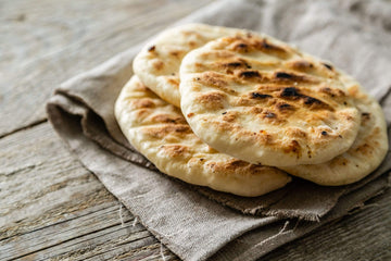 Organic Pita, 6 units from Marin Gourmet Artisanal Foods - San Francisco Farmers Market Delivery