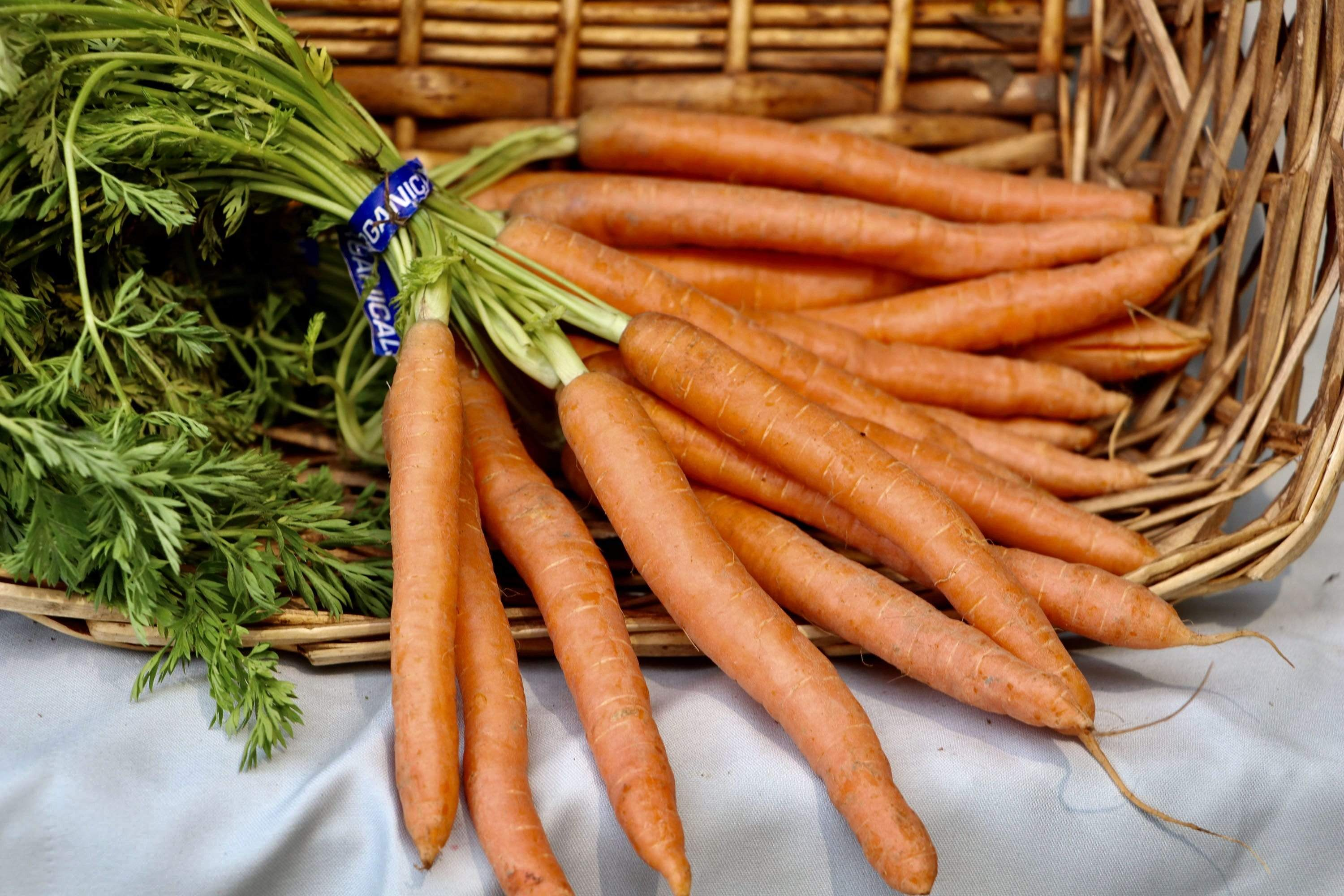 Organic Carrots, 16 oz from McGinnis Ranch - San Francisco Farmers Market Delivery