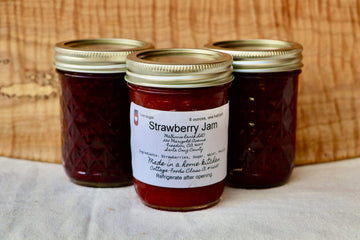 Strawberry Jam, 6 oz