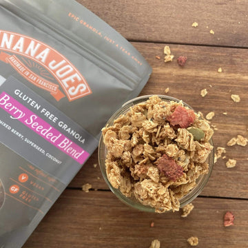 Organic Berry Seeded Blend Granola, 14 oz from Nana Joes Granola - San Francisco Farmers Market Delivery