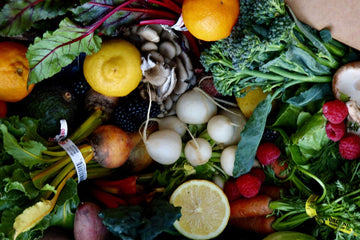Organic Seasonal Farm Box | Large from Our Farm Partners - San Francisco Farmers Market Delivery