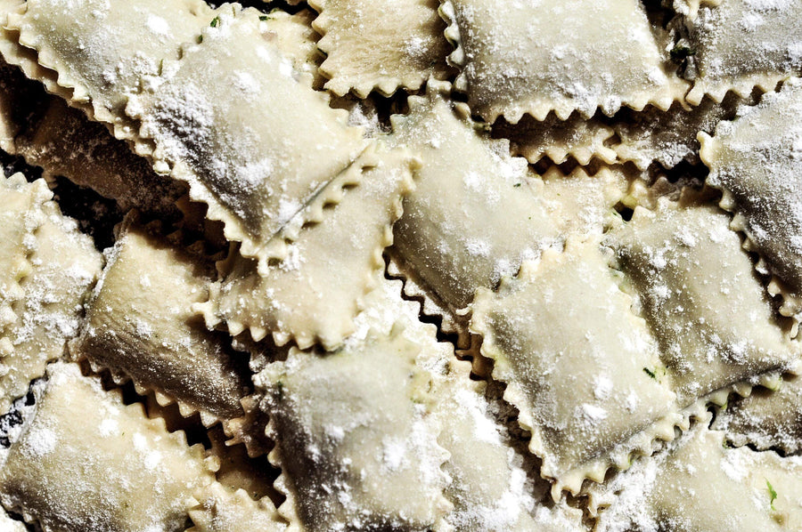 Mushroom & Caramelized Onion Ravioli in Eggless Pasta, 16 oz