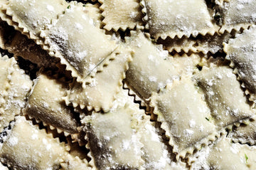 Organic Winter Squash & Sage Ravioli, 16 oz from The Pasta Shop - San Francisco Farmers Market Delivery