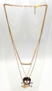 NECKLACE - COSTUME JEWELLERY - GOLD