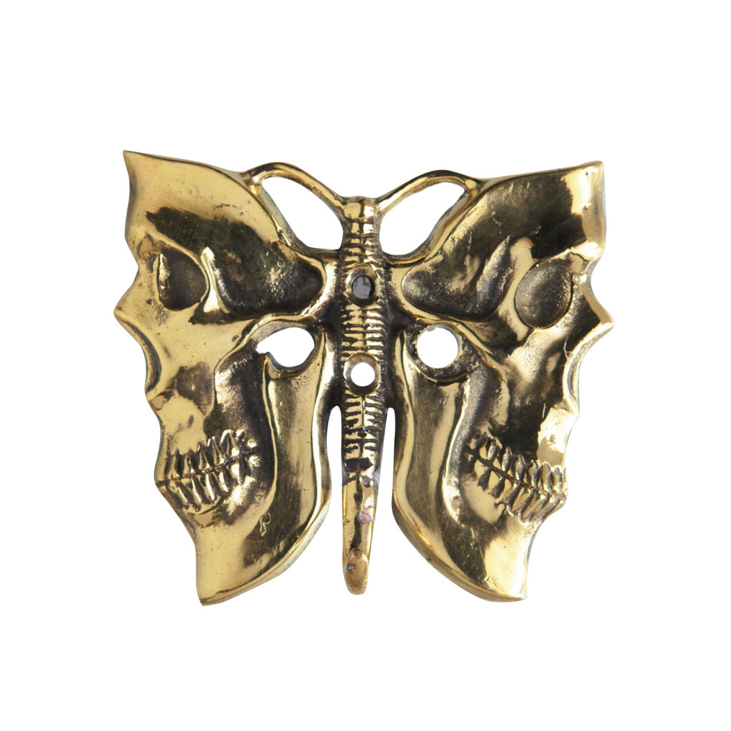 BUTTERFLY BRONZE COAT HANGER - GOLD