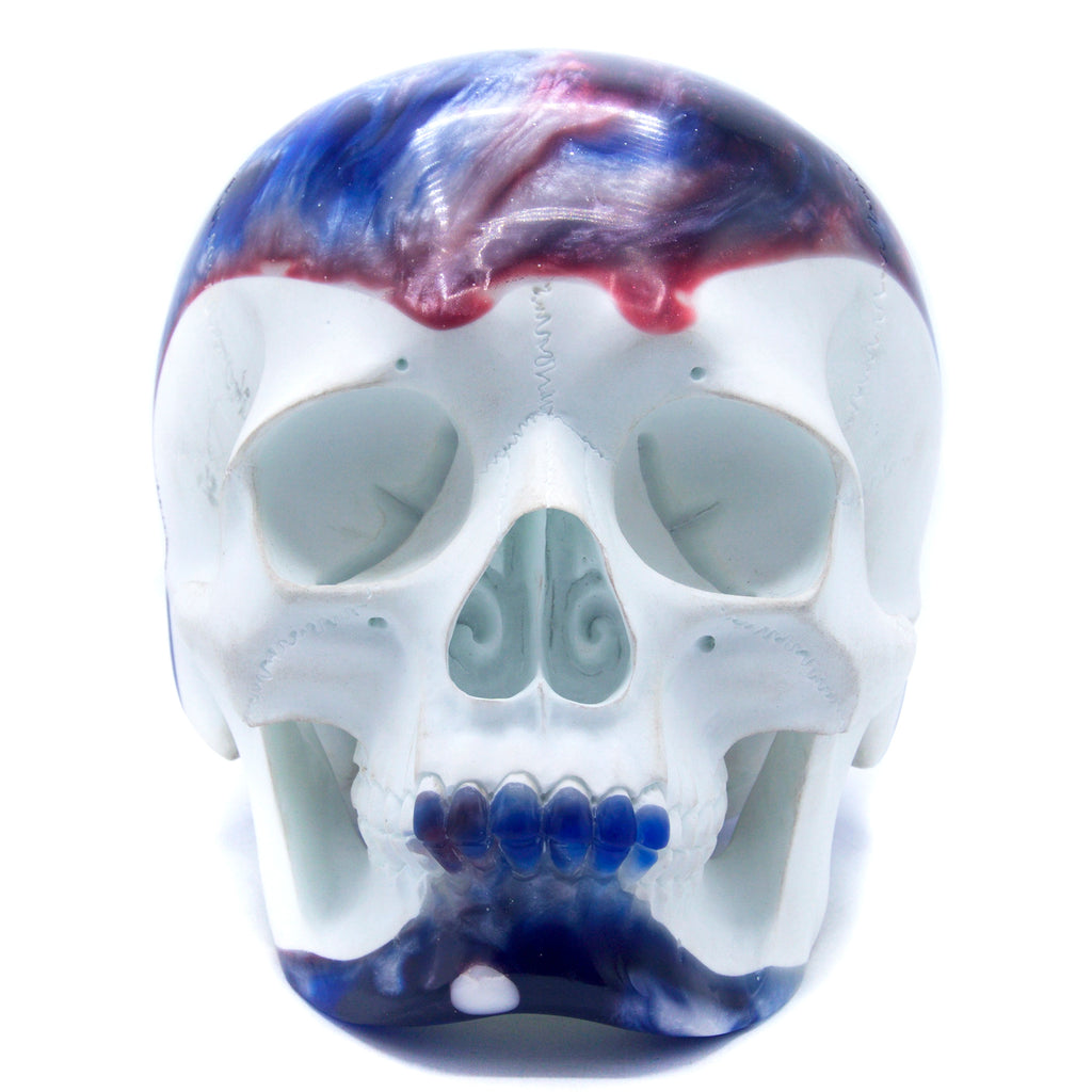 HANDCARVED-SKULL-BOWLING-BALL-RESIN-LARGE