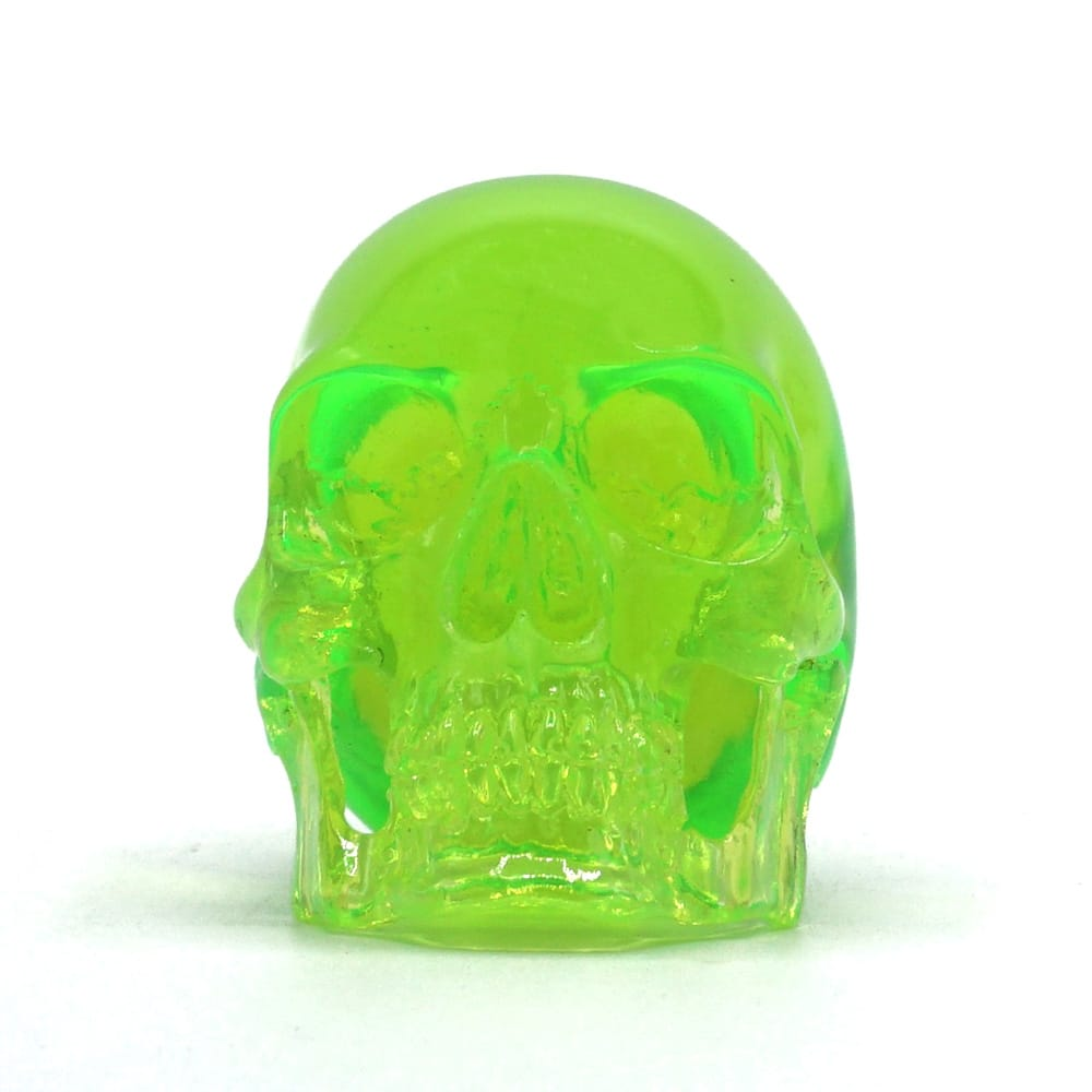 MINI SKULL - TRANSPARENT GREEN