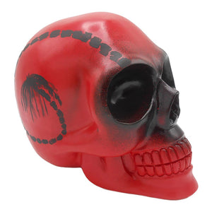 'DIED GOOFY' - PAUL McNEIL RESIN ART SKULL
