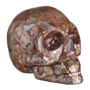 PENGUIN WING MOSAIC SHELL SKULL - LARGE