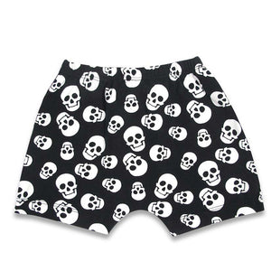 'POLKA SKULLS' SHORT PANTS PYJAMA SET