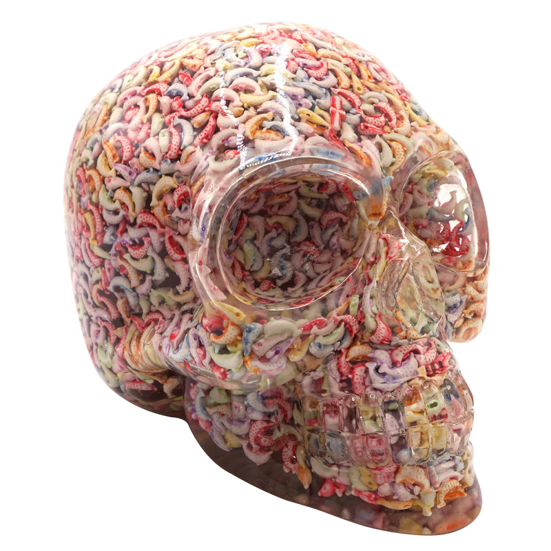CLEAR RESIN SKULLS - DOLPHINS