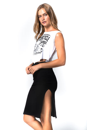 'JETT' MIDRIFF DRESS