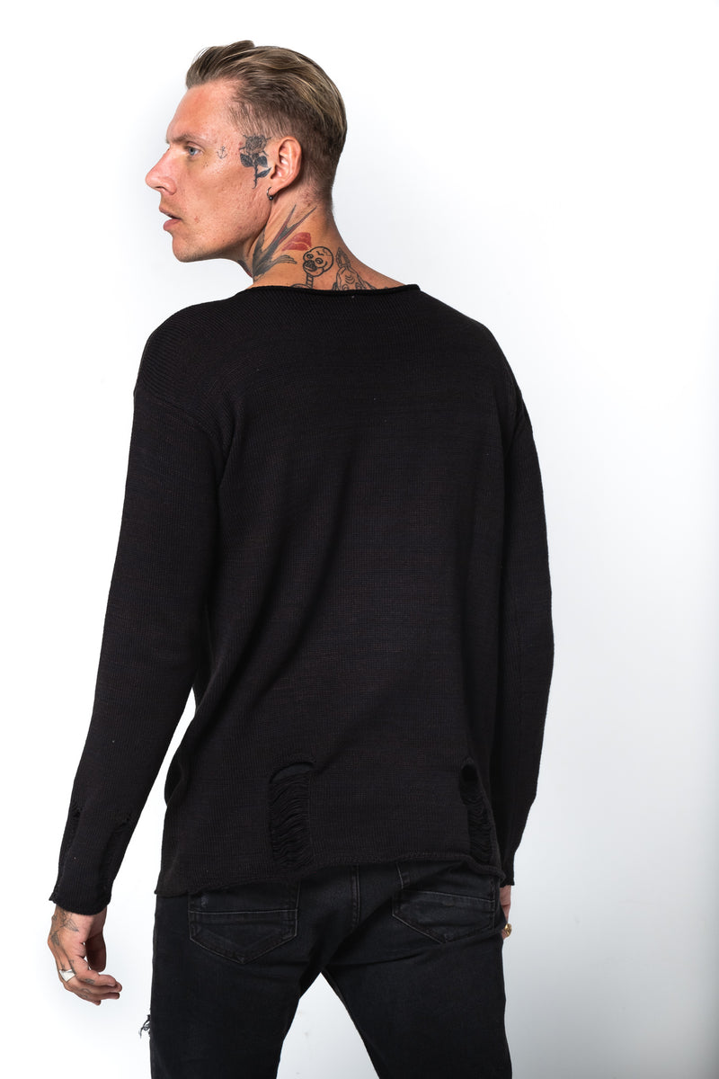 'ZIGGY' KNIT JUMPER
