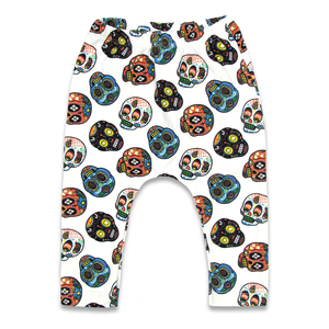 'SUGAR SKULLS 2' LONG PANTS PYJAMA SET