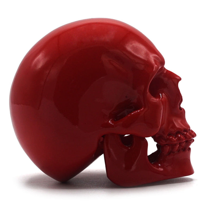SMALL RESIN SKULL - RED