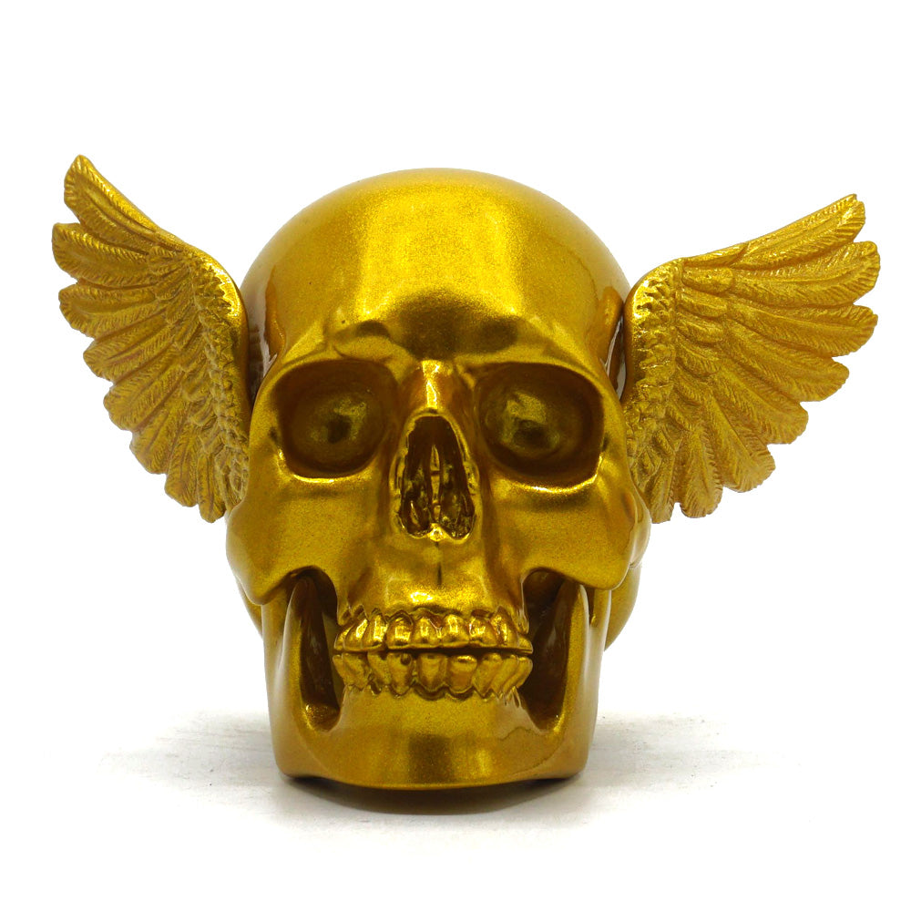 WINGED SKULL - GOLD