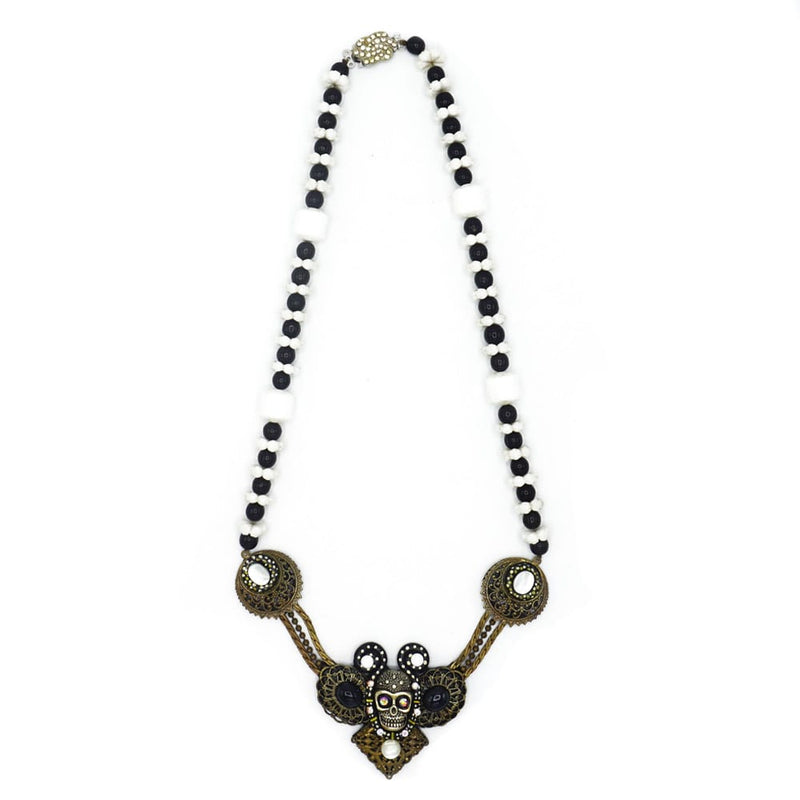 Vintage Skull Necklace - Todd Rudd Jewelry